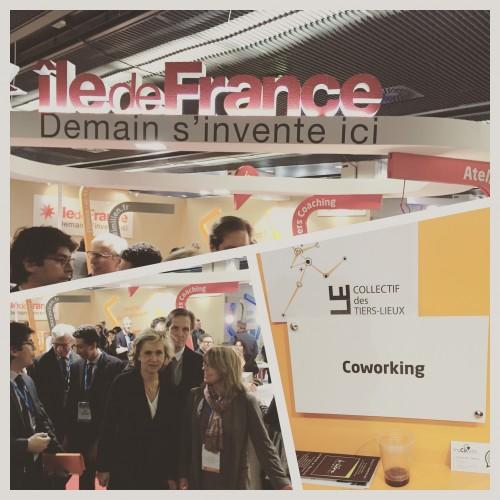 Une matinée de promotion du #coworking au côtés du collectif des tiers-lieux et de la région Ile de France. #myCowork #Paris #Montorgueil