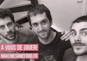 On a hâte de rencontrer ces trois startupers makemesomefood