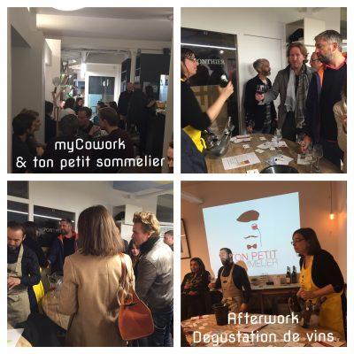 Apéro Dégustation d'Octobre chez myCowork - Automne en vallée du Rhône