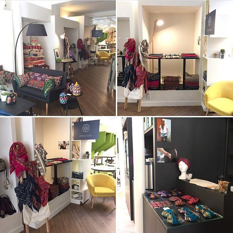 Pop-up store Amantanie & les Oies Sauvage chez myCowork