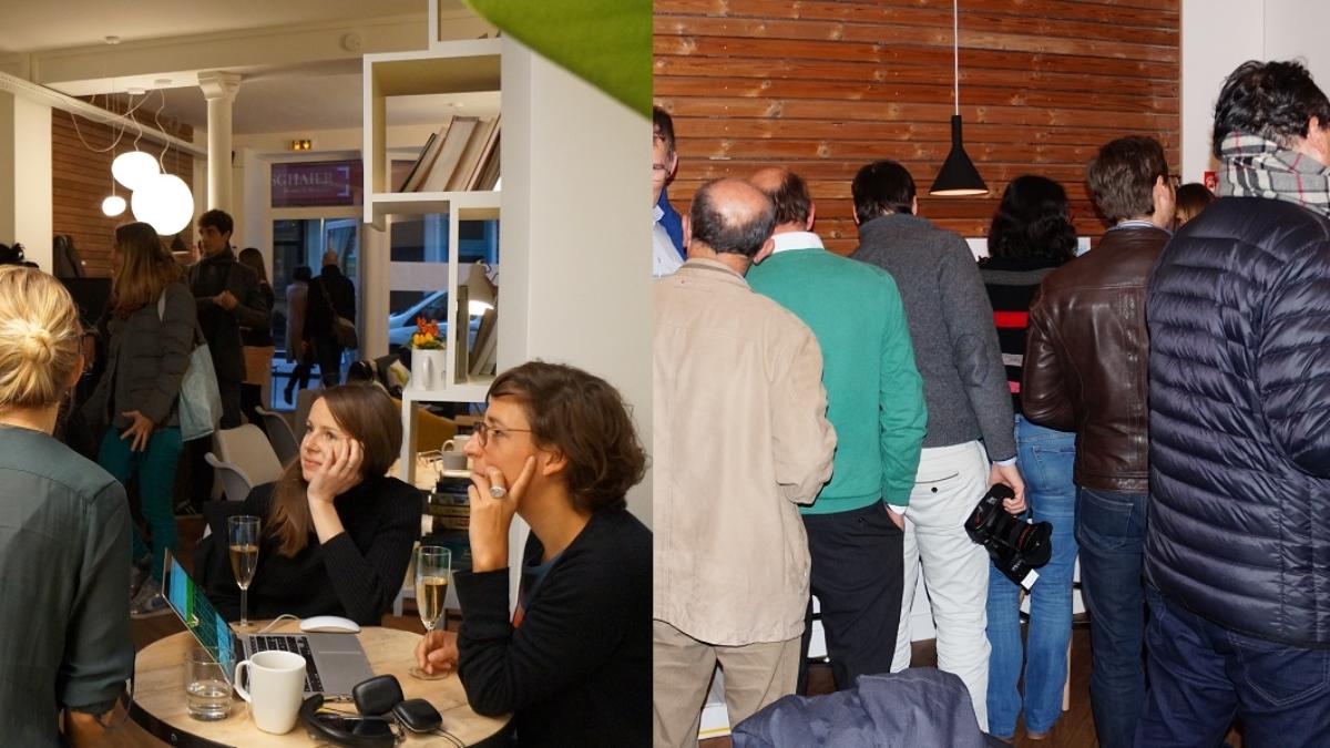 #coworkingparty crémaillère myCowork espace de coworking 54 rue Greneta