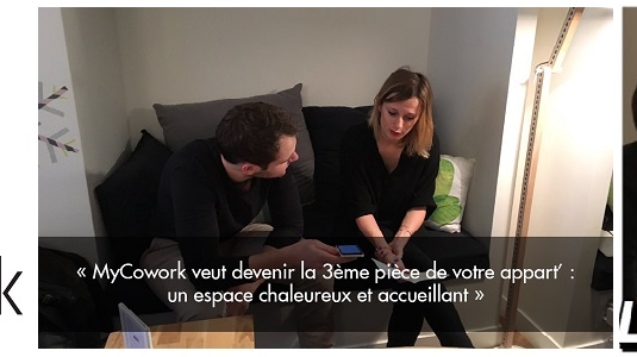 interview des lieux d'innovation du Sentier : myCowork rue Greneta