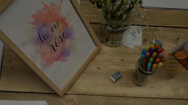 atelier calligraphique chez myCowork
