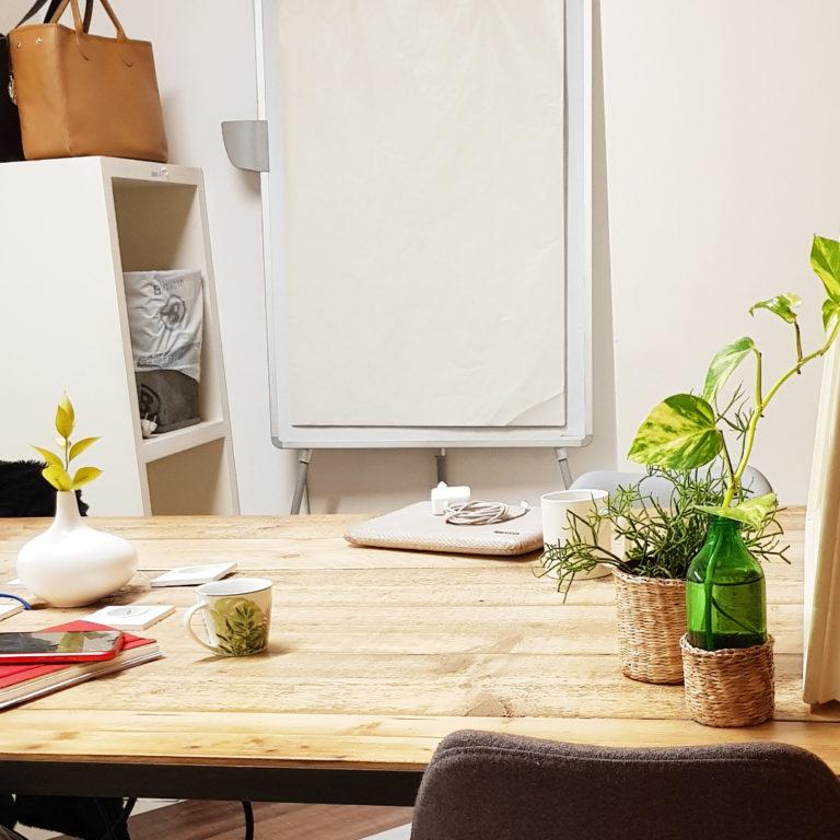 bureau privé 4 personnes en coworking chez myCowork Montorgueil - flexible - sans engagement - Paris2