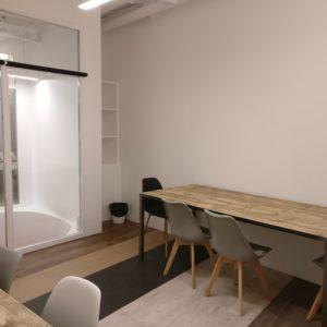 bureau privé 8 personnes en coworking chez myCowork Beaubourg - flexible - sans engagement - Paris4
