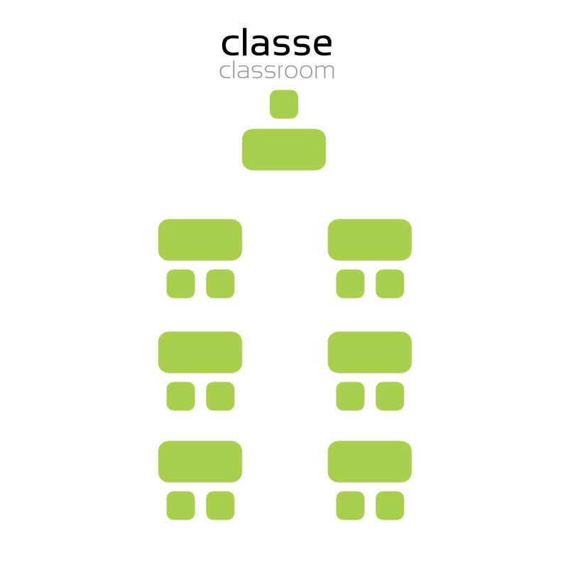 évenement - privatisation myCowork Beaubourg - espace Merri - Paris - implantation Classeroom