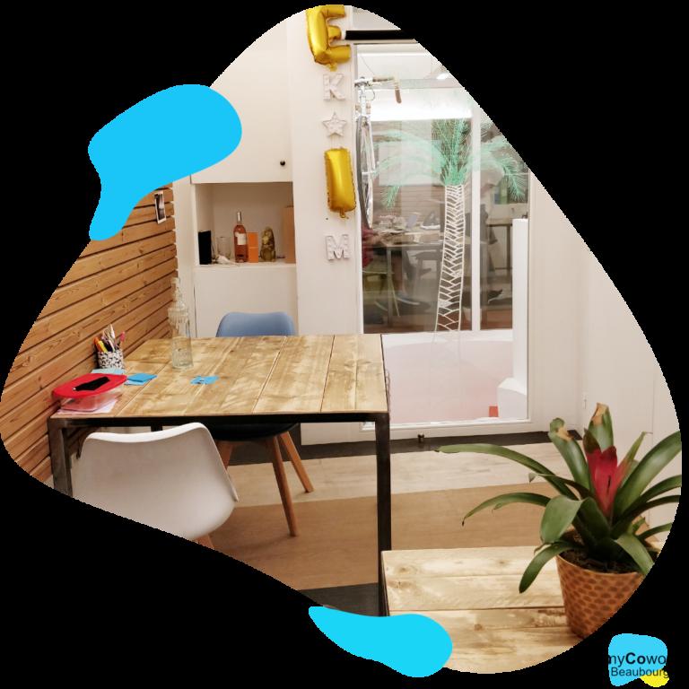 bureaux privés flexibles en coworking myCowork Beaubourg / private offices in our coworking place