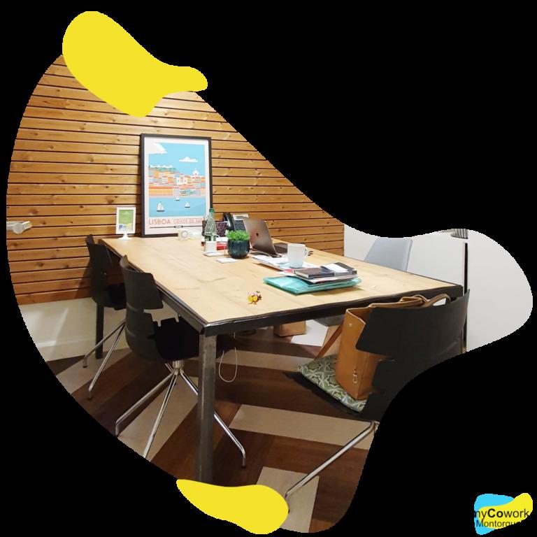 bureaux privés flexibles en coworking myCowork Montorgueil / private offices in our coworking place