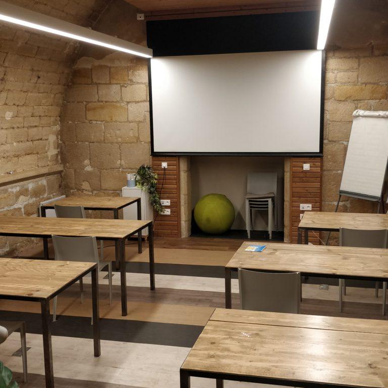 Salle de réunion Stravinski implantation Covid 6 pers