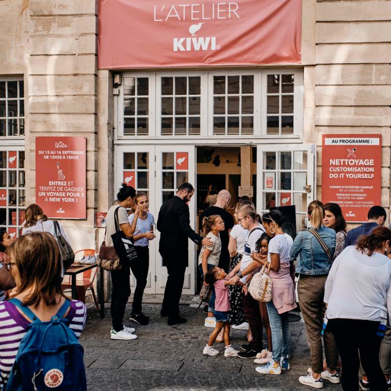 Privatisation espace Merri myCowork Beaubourg - atelier Kiwi