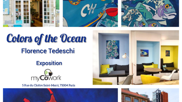 Exposition Florence Tedeschi chez myCowork Beaubourg